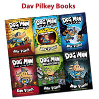 Adventures of Dog Man Series Dav Pilkey collection set Children's pack New