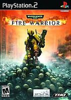 Warhammer 40,000: Fire Warrior (Sony PlayStation 2, 2003) PS2 Complete