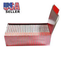 1 Box 50 Booklet Moon Red Cigarette Tobacco Rolling Papers 2500 Leaves US Seller