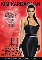 Kim Kardashian: Fit In Your Jeans by Friday: Butt Blasting Cardio Step DVD Used