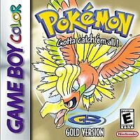 Pokemon: Gold Version (Nintendo Game Boy Color, 2000) Cart only new save battery