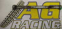 Kawasaki KX 60 All Years Swing Arm Swinging Arm Spindle with Nut Motocross MotoX