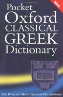 The Pocket Oxford Classical Greek Dictionary NEW BOOK