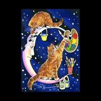 Moonlight  ACEO Print Restoration By I Garmashova