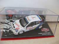ford focus WRC 2004  martin park 1/43 rallye monte Carlo IXO