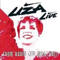 MINNELLI LIZA- LIZA LIVE FROM RADIO CITY... CD.