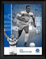 "Queens Park Rangers FC Les Ferdinand Framed 8x6"" Print"