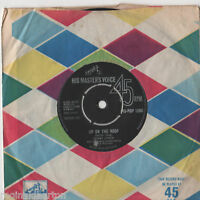 """Kenny Lynch - Up On The Roof 7"""" Single 1962"""