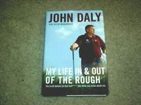"John Daly PGA Golfer Autographed ""My Life In and Out of a Rough"" Book  COA"