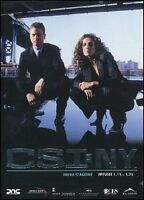 CSI NY C.S.I. NEW YORK Stagione 1.Parte 2 - 3 DVD NUOVO