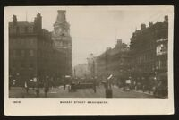 Lancs MANCHESTER Market St early RP PPC