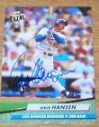 Dodgers Dave Hansen 92 Fleer Autographed Card