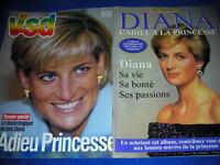 LOT 2 MAGAZINE sur la princesse de GALLES diana VSD