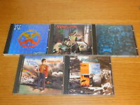 LOT 4 CD MARILLION seasons end A SINGLES COLLECTION misplaced childhood JESTERS