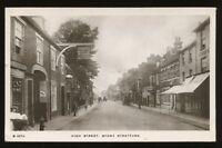 Bucks STONY STRATFORD High St 1910 RP PPC