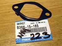 Water pump inlet pipe gasket, genuine Mazda MX-5 waterpump, mk1 mk2 MX5 1.6, 1.8
