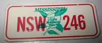 1970's Post Cereal Mississippi Mini License Plate