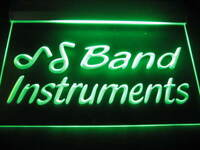 Band Instruments Logo Beer Bar Pub Light Sign Neon B277