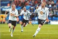 Signed 12 x 8 inch photo, Bolton Wanderers, Zat Knight