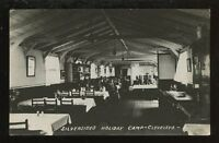 Lancs Cleveleys SILVERSIDES Holiday Camp RP PPC Dining Room
