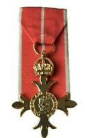 FULL SIZE OBE ORDER OF THE BRITISH EMPIRE  MEDAL COPY - LOOSE OR COURT MOUNTED