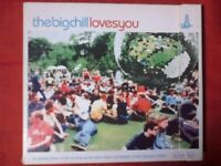 COMPILATION - THE BIG CHILL LOVES YOU (30 TRACKS, 2002). 2 CD.