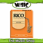 Rico 3 Strength Alto Saxophone Reeds - Box of 10 - New Reed - The Music Shop
