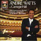 Andre Watts At Carnegie Hall 25Th Anniversary Recital SCHUBERT HAYDN MOZART