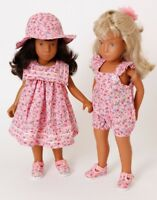 New !Frilly Lily Summer Collection for Sasha Doll, dress /hat/sunsuit/shoes