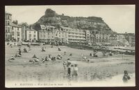 Sussex HASTINGS West Hill from the sands LL PPC pre 1919