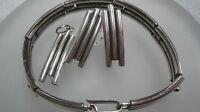 Schmuckset aus 925er Silber Armband + Ohrringe + Anhänger Silberschmuck