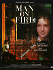 affiche MAN ON FIRE - CHOURAQUI - Scott GLENN