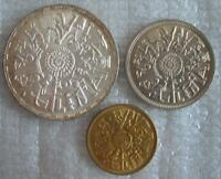EGYPT 3 Coins Set 1977 UNC FAO Issue