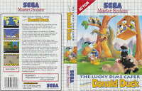 The Lucky Dime Caper Starring Donald Duck Pour Master System