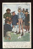 Political satire Arthur Moreland Comic John Bull 1903 PPC Free Trade