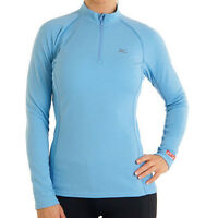 Mizuno Breath Thermo 73CL05019 Langarm Longsleeve  Shirt Gr. XS-S-M-L Damen blau