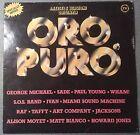 DISCO LP 33 GIRI ORO PURO 5 COMPILATION ARTISTI INTERNAZIONALI CBS 1985 VG+++