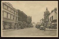 Lancs OLDHAM High Street 1952 PPC