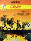 LUCKY LUKE N° 58 L'alibi BD EO 1987 Dargaud Morris