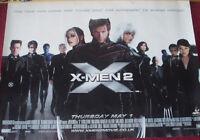 Cinema Poster: X MEN 2 2003 (Main Quad) Hugh Jackman Ian McKellen Halle Berry