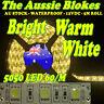 5M 300 LED WW5050 STRIP LIGHT WATERPROOF 12V STICK ON KITCHEN CAMPING MARINE BBQ