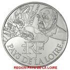 """FRANCE 2012 10 EURO AG REGION """"PAYS DE LA LOIRE""""TIRAGE:105.000 EXEMPLAIRES"""
