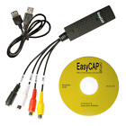 GENUINE EzCAP 168 USB Video Capture Stick 32 & 64 Bit USA Easycap Record PVR VHS