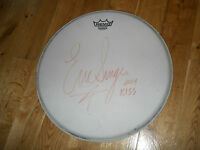 Eric Singer Signed Drumhead (KISS) - FREE SHIPPING