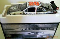 New Joey Logano 2010 Home Depot Brushed Metal 1/24 Diecast Car Action 1/110