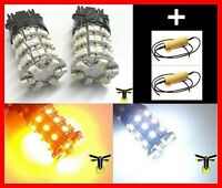 Dual Color Switch Back Switchback 3157 3457 LED Turn Signal Lights & Resistors