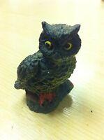 Owl Ornament, 'Red Claw', Collectors Edition, Triangle Classics