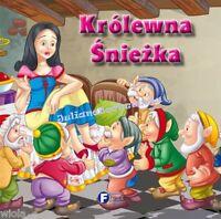 KROLEWNA SNIEZKA bajka po polsku KARTON polskie bajki ksiazki dla dzieci *JBook