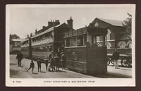 Bucks STONY STRATFORD and Wolverton Steam Tram RP PPC 1911