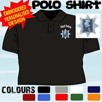 PERSONALISED EMBROIDERED WINDOW CLEANER CLEANING WORKWEAR T POLO SHIRT
